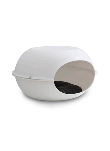 JBL Mp Luna Beyaz Kedi Evi 57*38*31Cm Renkli